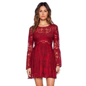Free People Folk Song Lace Dress